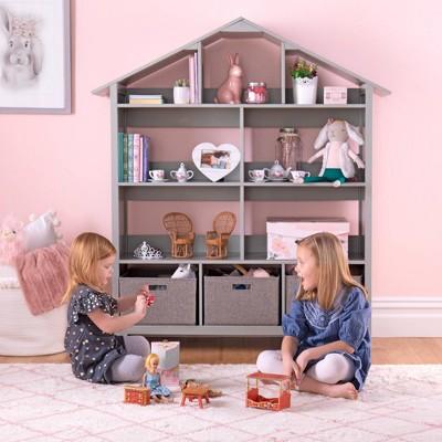 Living & Learning Kids' Dollhouse Bookcase - Martha Stewart