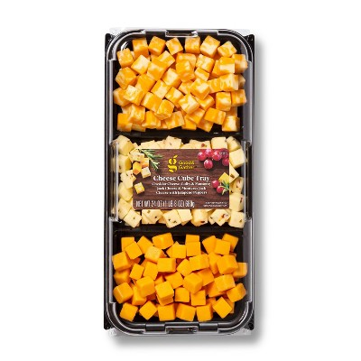 Cubed Cheese Tray - 24oz - Good & Gather™