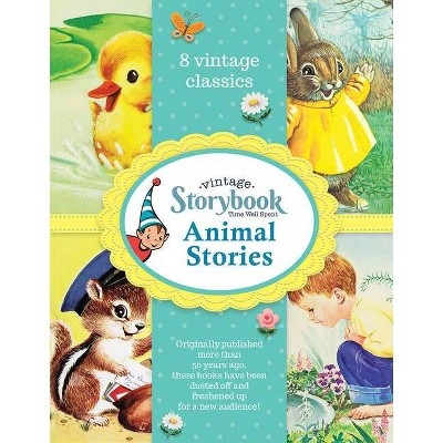Animal Stories - (Toon Studio Vintage Children's 8-Book Vintage Storybook Gift Set) (Hardcover)