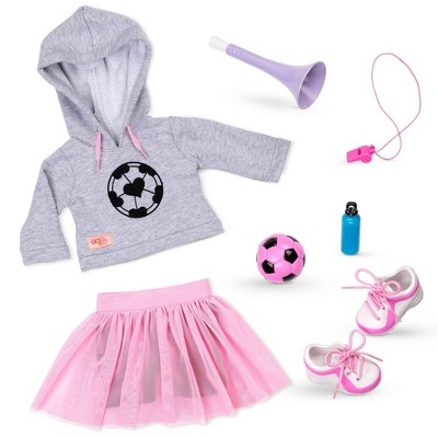 """Our Generation Soccer Outfit for 18"""" Dolls - Fashion Goals"""
