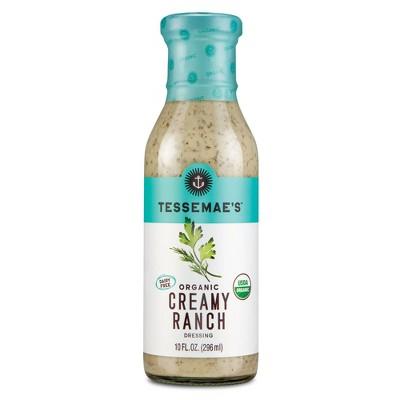 Tessemae's Organic Creamy Ranch Dressing - 10 fl oz