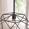 Bomith Geometric Pendant Lamp Black (Lamp Only) - Aiden Lane - image 2 of 4
