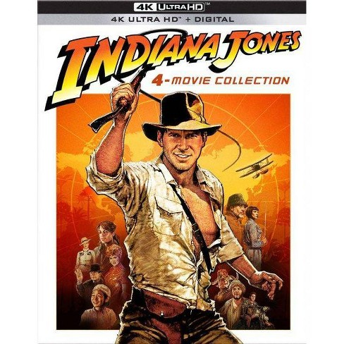 Indiana Jones: The Complete Adventure Collection (4K/UHD)(2021) - image 1 of 1
