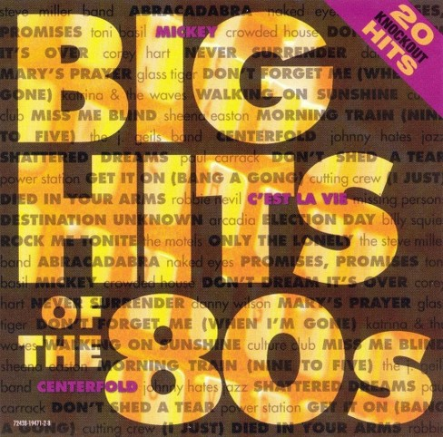 Various - Big hits of the 80's (CD) - image 1 of 1
