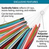 Vivere 9ft Sunbrella Hammock with Stand - image 2 of 4