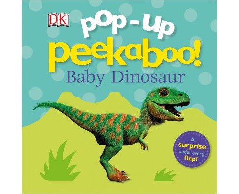 Pop-up Peekaboo! Baby Dinosaur -  (Pop-up Peekaboo) (Hardcover) - image 1 of 1