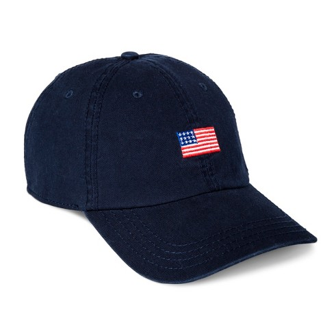 Men's Americana Flag Dad Hat - Navy One Size - image 1 of 2
