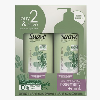 Suave Professionals Rosemary + Mint Set