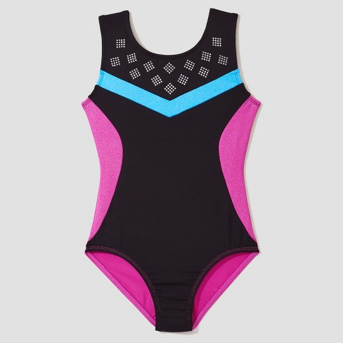 7b742e0e8f29 Freestyle® By Danskin® Girls  Strappy Back Activewear Leotard ...