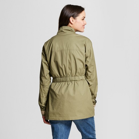 Women s Military Jacket - Universal Thread™ Olive   Target 4ae2d64d4