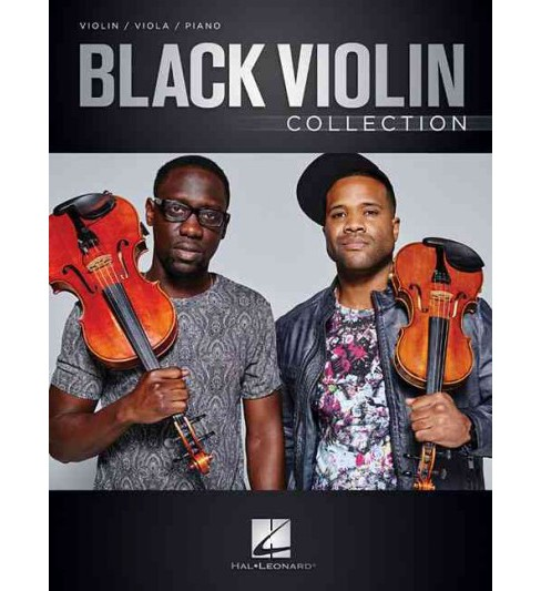 Black Violin Collection : Violin / Viola / Piano -  (Paperback) - image 1 of 1