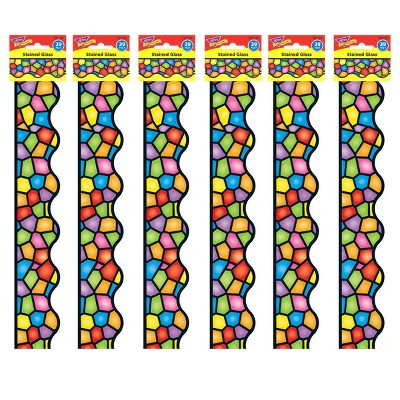 6pk 39' per pack Stained Glass Terrific Trimmers - TREND