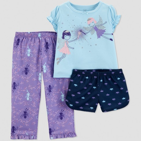 2a60b1671d99 Toddler Girls  3pc Fairies Pajama Set - Just One You® Made By ...