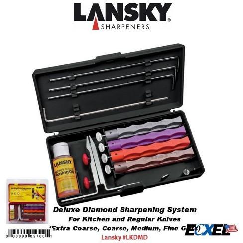 Lansky 4-Stone Deluxe Diamond Sharpening System - image 1 of 1