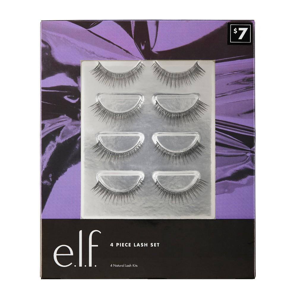 e.l.f. Holiday Lash Set - 4 pair, Black