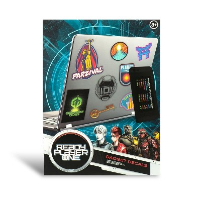 Paladone Products Ltd. Ready Player One Vinyl Gadget Decal Sticker Pack