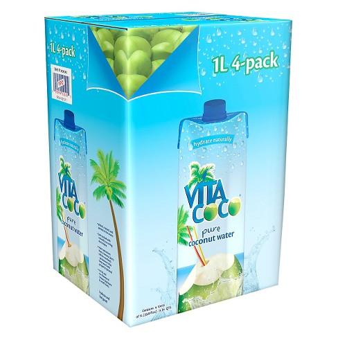 Vita Coco Pure - 4pk/1 L Cartons - image 1 of 1