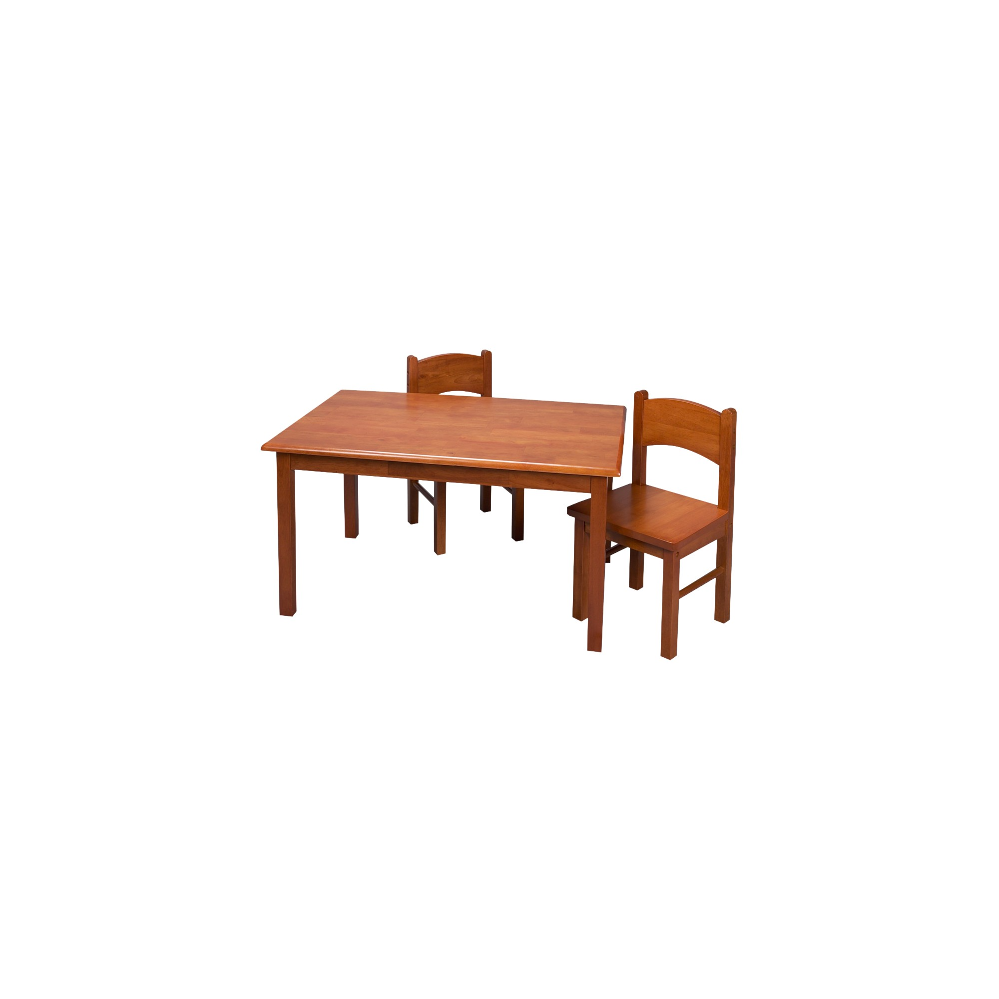 Honey Rectangular Table and Chair Set 3-pc.
