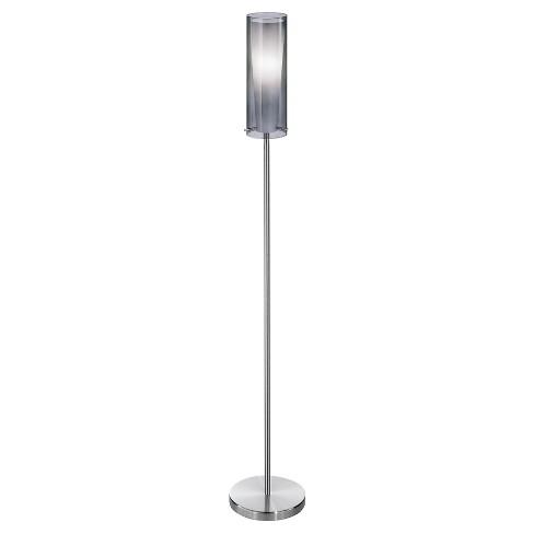 """58"""" Pinto Negro Floor Lamp Matte Nickel  - Eglo - image 1 of 1"""