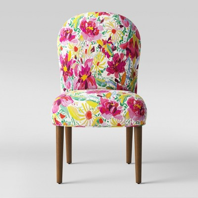 Caracara Rounded Back Dining Chair Bright Floral - Opalhouse™
