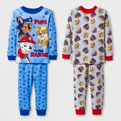 bb87b8d7d Baby Boys  PAW Patrol Pajama Set - Blue 12M   Target