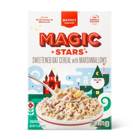 Magic Stars Oat Breakfast Cereal with Marshmallows - 11.5oz - Market Pantry™ - image 1 of 1