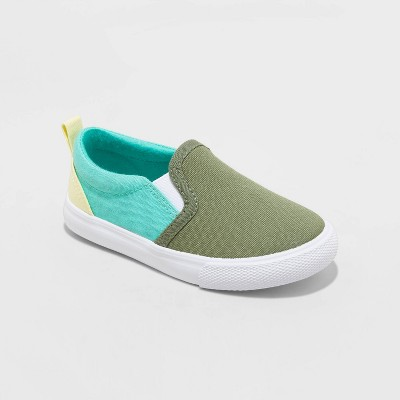Toddler Boys' Barron Slip-On Apparel Sneakers - Cat & Jack™ Green