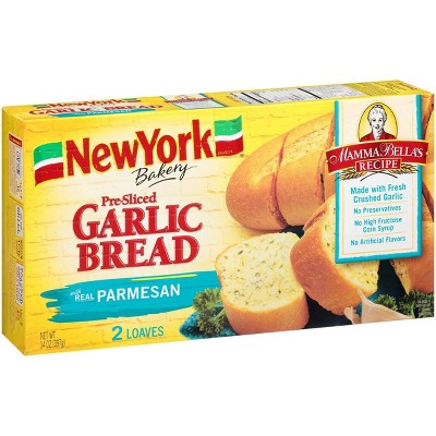 New York Bakery Frozen Parmesan Garlic Bread - 14oz