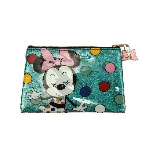 Disney Minnie Mouse Happy Pencil Pouch with Charm - image 1 of 1