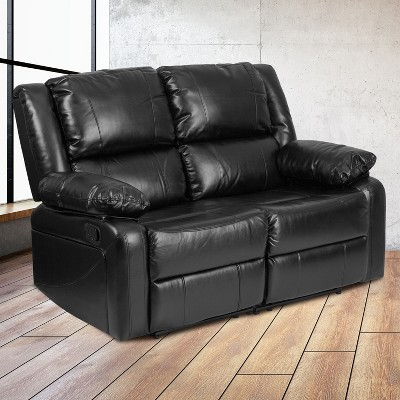 Flash Furniture Harmony Series Loveseat with Two Built-In Recliners