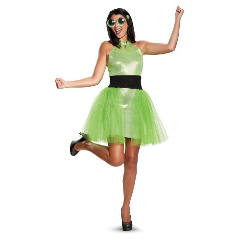 Women's Powerpuff Girls' Buttercup Deluxe Adult Costume - image 1 of 1