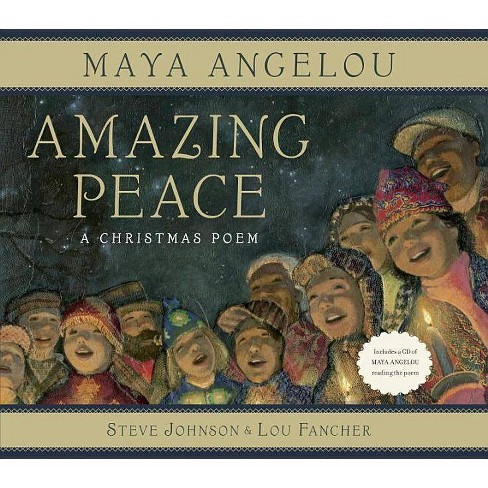 Amazing Peace - by  Maya Angelou (Mixed media product) - image 1 of 1