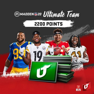 Madden NFL 20: 2200 Madden Ultimate Team Points - PlayStation 4 (Digital)