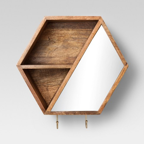 Hexagon Wall Cubbie With Hooks 12 X 104 Project 62 Target