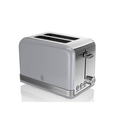 Salton Swan Retro 2-Slice Toaster - Gray