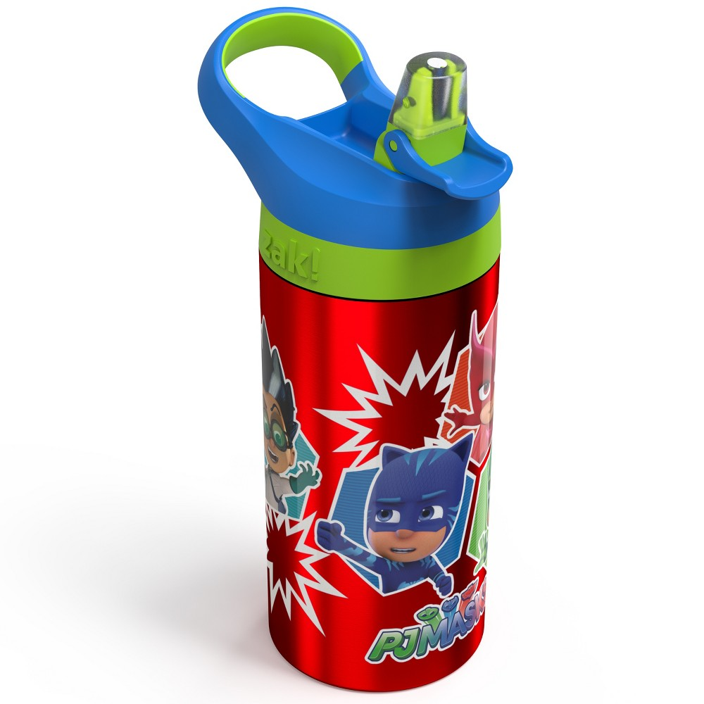 Image of PJ Masks 19.5oz Stainless Steel Water Bottle Red/Green, Blue/Grey