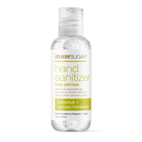 Raw Sugar Mini Hand Sanitizer Coconut + Lemon Verbena - Trial Size - 2 fl oz - image 1 of 3