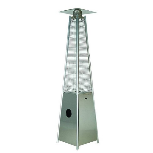 Portable Outdoor Flame Patio Heater Stainless Steel - Legacy Heating - image 1 of 2