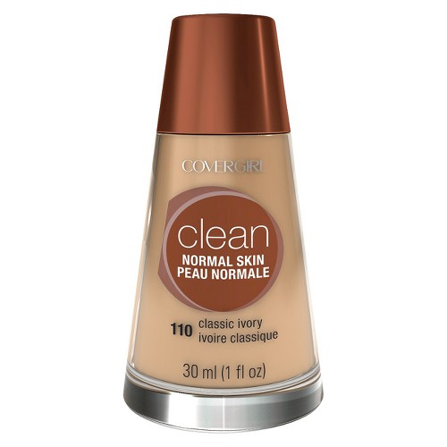 COVERGIRL Clean Foundation 110 Classic Ivory 1 fl oz