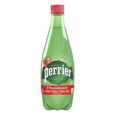 Perrier Strawberry Sparkling Water - 16.9 fl oz Bottle