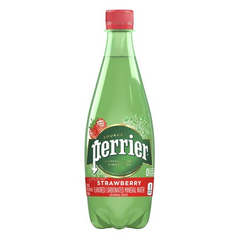 Perrier Strawberry Sparkling Water - 16.9 fl oz Bottle - image 1 of 4
