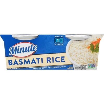 Minute Rice Gluten Free to Serve Basmati Rice Cups - 8.8oz-2ct