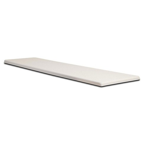 S.R. Smith Fibre-Dive 6-Foot Non-Slip Replacement Diving Board, Radiant White - image 1 of 1