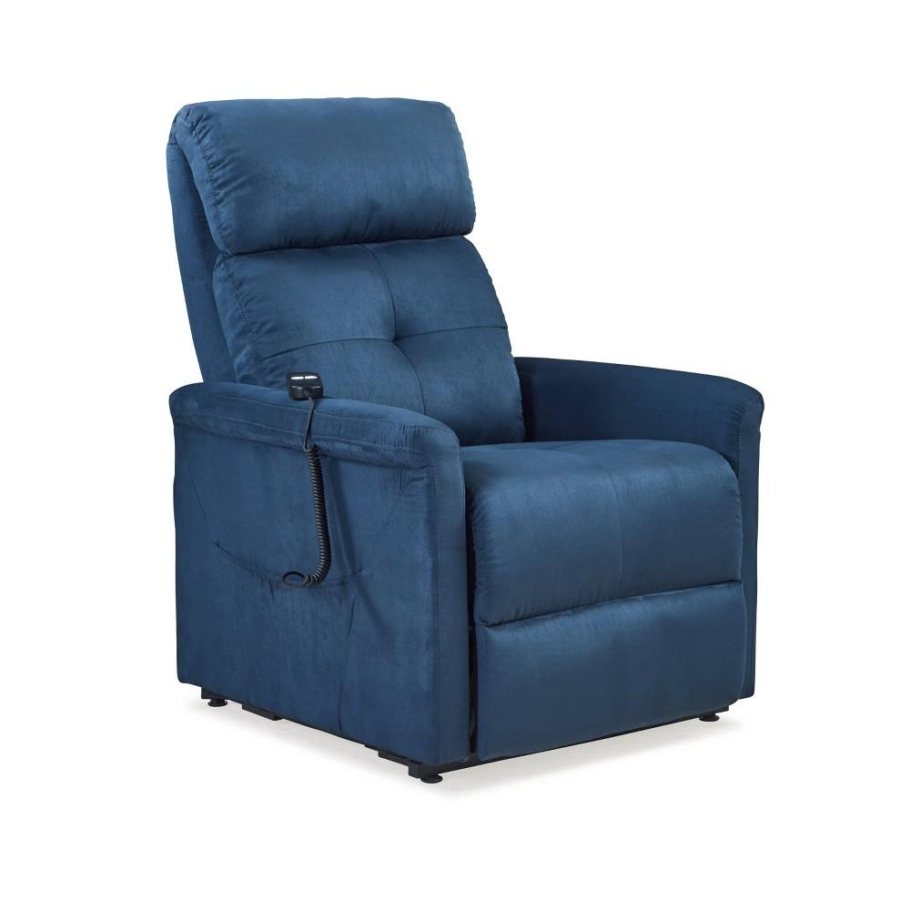 Prolounger Power Recline and Lift Chair Blue - Handy Living