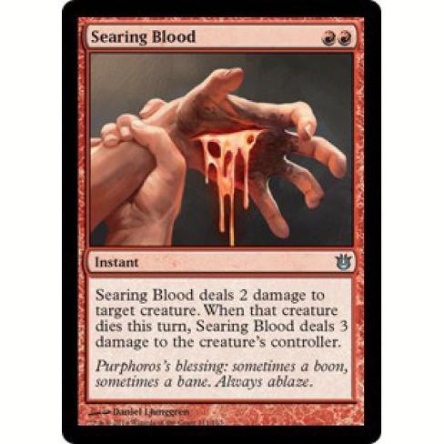 Searing Blood //// Born of the Gods //// MTG Magic the Gathering