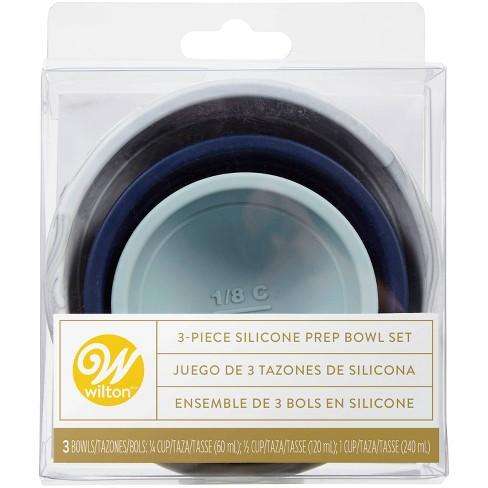 Wilton 3pc Sylish Silicone Prep Bowl Set - image 1 of 4
