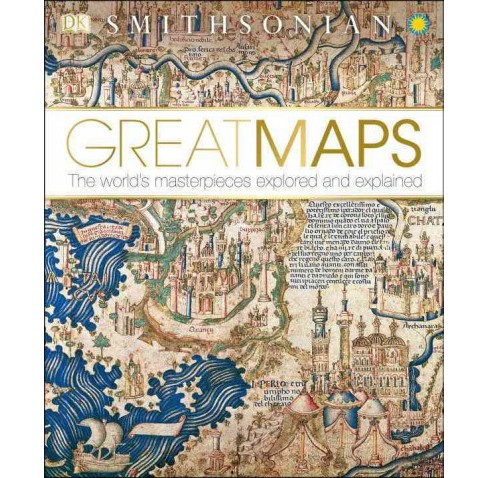 DK Smithsonian Great Maps (Hardcover) - image 1 of 1