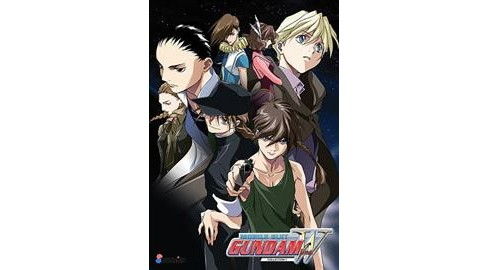Mobile Suit Gundam Wing:Dvd Collectio (DVD) - image 1 of 1