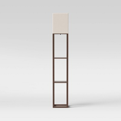 Shelf Floor Lamp Brown - Threshold™