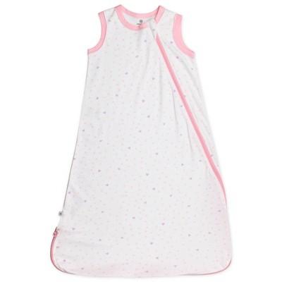 Honest Baby Organic Cotton Interlock Wearable Blanket All Seasons - Love Dot S